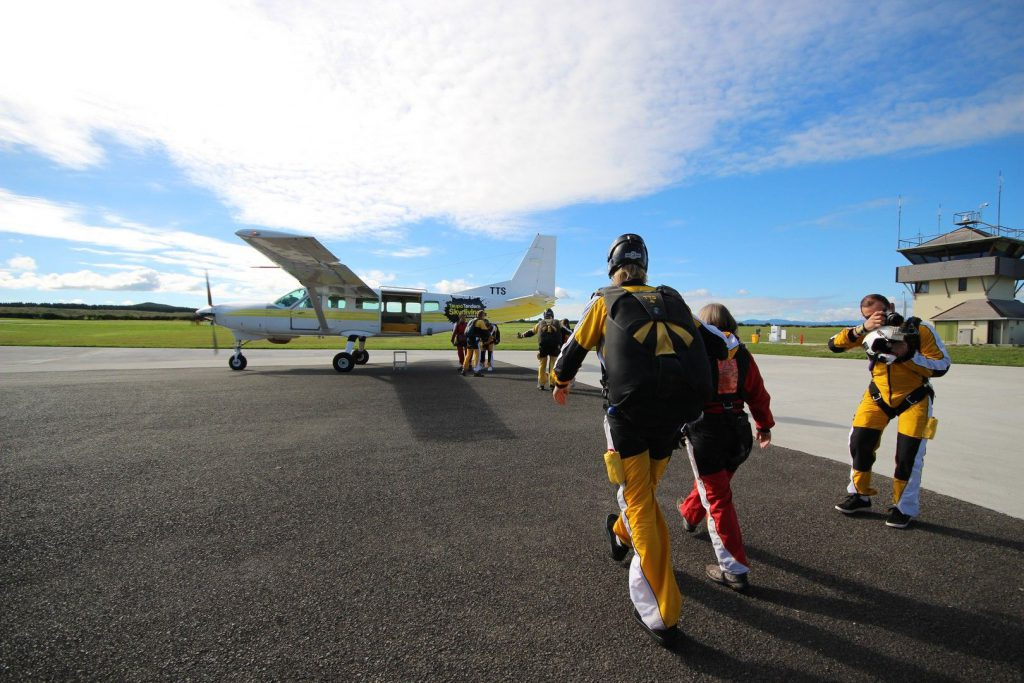 Jump From 12,000 Ft | Taupo Tandem Skydiving