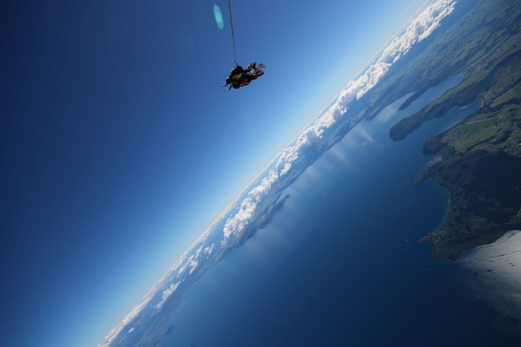 Skydive From 15,000ft | Taupo Tandem Skydiving